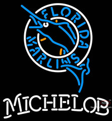 Michelob Florida Marlins MLB Neon Sign