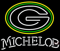Michelob Green Bay Packers NFL Neon Sign