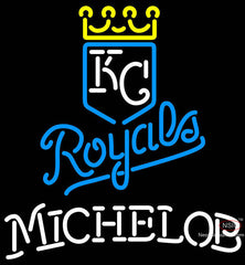 Michelob Kansas City Royals MLB Neon Signs