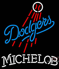 Michelob Los Angeles Dodgers MLB Neon Sign