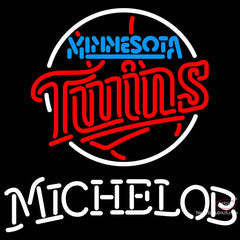 Michelob Minnesota Twins MLB Neon Sign