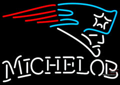 Michelob New England Patriots NFL Neon Sign