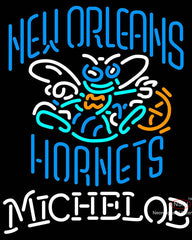Michelob New Orleans Hornets NBA Neon Sign