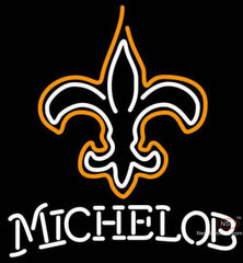 Michelob New Orleans Saints NFL Neon Sign