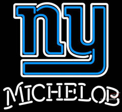 Michelob New York Giants NFL Neon Sign