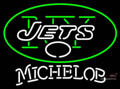 Michelob New York Jets NFL Neon Sign