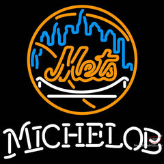 Michelob New York Mets MLB Neon Sign