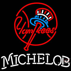 Michelob New York Yankees MLB Neon Sign