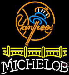 Michelob New York Yankees Neon Sign