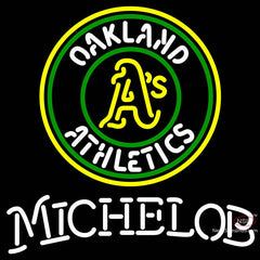 Michelob Oakland As MLB Neon Sign