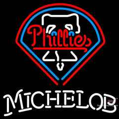 Michelob Philadelphia Phillies MLB Neon Sign