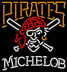 Michelob Pittsburgh Pirates MLB Neon Sign