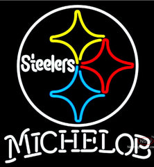 Michelob Pittsburgh Steelers NFL Neon Sign