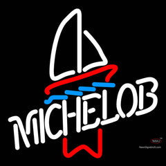 Michelob Sailboat Neon Beer Sign x