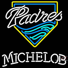 Michelob San Diego Padres MLB Neon Sign