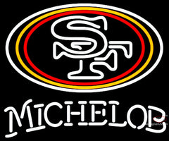 Michelob San Francisco ers NFL Neon Sign