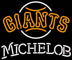 Michelob San Francisco Giants MLB Neon Sign