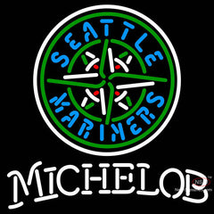 Michelob Seattle Mariners MLB Neon Sign