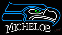 Michelob Seattle Seahawks NFL Neon Sign