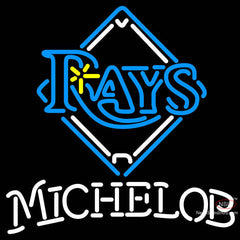 Michelob Tampa Bay Rays MLB Neon Sign