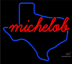 Michelob Texas Neon Beer Sign
