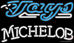 Michelob Toronto Blue Jays MLB Real Neon Glass Tube Neon Sign
