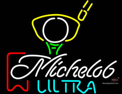 Michelob Ultra Red Ribbon Pga Golf Neon Beer Signs