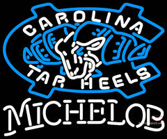 Michelob Unc North Carolina Tar Heels MLB Neon Sign  7