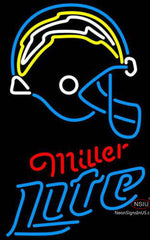 Miller Lite Neon San Diego Chargers NFL Neon Sign