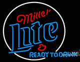 Miller Lite Ready To Drink Neon Beer Sign