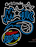Miller Lite Rounded Orlando Magic NBA Neon Sign  7