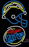 Miller Lite Rounded San Diego Chargers NFL Neon Sign