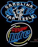 Miller Lite Rounded Unc North Carolina Tar Heels MLB Neon Sign