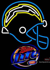 Miller Lite San Diego Chargers NFL Neon Sign