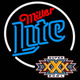 Miller Lite Super Bowl Xxx  Neon Sign x