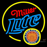 Miller Lite True Pilsner Circle Neon Beer Sign x