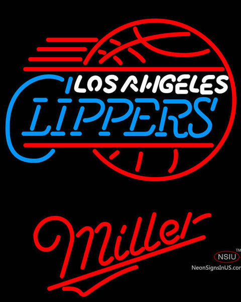 Miller Los Angeles Clippers NBA Neon Sign