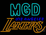 Miller MGD Los Angeles Lakers Neon Signs