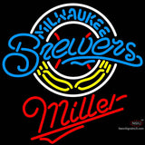 Miller Milwaukee Brewers MLB Neon Sign