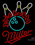 Miller Neon Bowling Pool Neon Sign