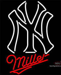 Miller New York Yankees MLB Neon Sign