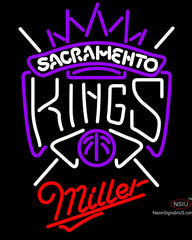 Miller Sacramento Kings NBA Neon Sign