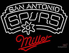 Miller San Antonio Spurs NBA Neon Sign