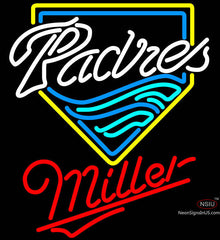 Miller San Diego Padres MLB Neon Sign