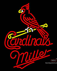Miller St. Louis Cardinals MLB Neon Sign