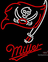 Miller Tampa Bay Buccaneers NFL Neon Beer Sign