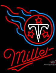 Miller Tennessee Titans NFL Neon Sign