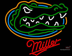 Miller University of Florida Neon Beer Sign