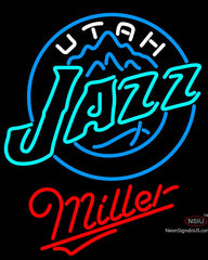 Miller Utah Jazz NBA Neon Sign