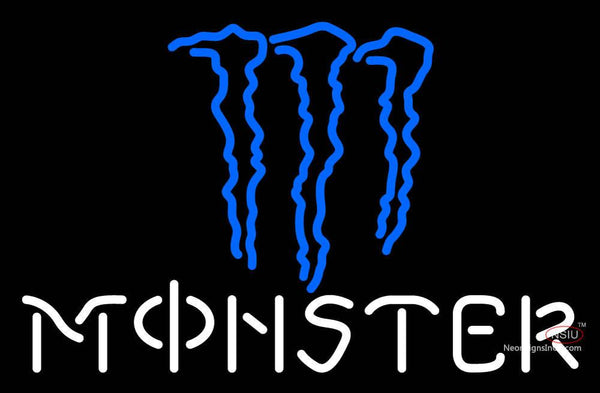 Monster With Logo Neon Sign